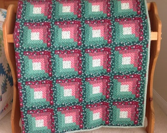 Country Log Cabin Quilt