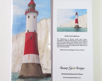 Lighthouse Shopping List Pad with magnet