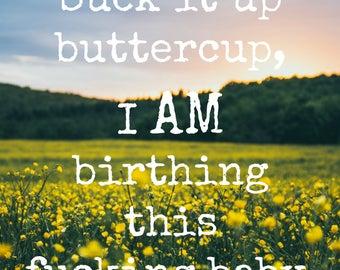 2nd Digital Badass Birth Affirmations
