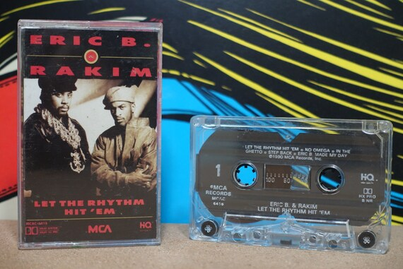 Let The Rhythm Hit 'Em by Eric B & Rakim Vintage Cassette Tape