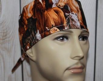 Men's Surgical Scrub Cap