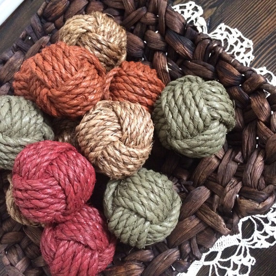 Decorative Rope Balls Awesome Decorative Rope Knot Balls Set Of 12 Rope Knot Home Decor 2018