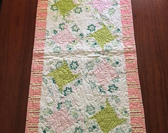 Table runner, Quilted, cotton, 92cmx50cm