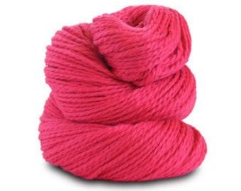 Organic Cotton Yarn Worsted, 150 Yards, Flamingo