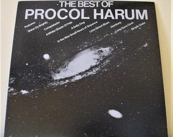 "Procol Harum - The Best of (1972), 12"" Vinyl LP Record Album 1982 Reissue, VG++, A&M SP-3259"