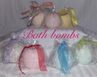 All natural homemade bath bombs, silky soft skin , fizzy bath bombs, relaxing bath,