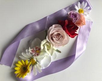 Wildflower Flower Crown, Floral Crown, Festival Crown