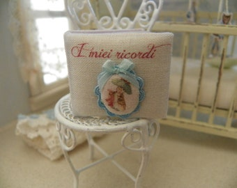 miniature baby memory  album