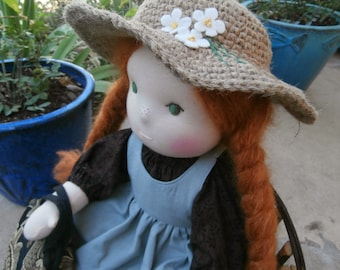 Prairie Waldorf Doll Historical Story Book Inspired
