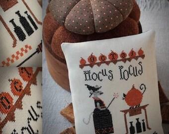 Hocus Pocus / Cross stitch pattern / PDF