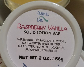 Solid Lotion Bars ~ Your Choice of Scent
