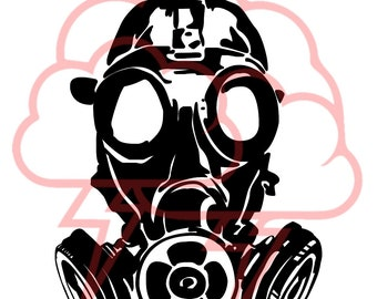 Gas Mask, SVG, military svg, USMC, Marines, Cricut