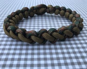 Fine handmade macrame bracelet for men