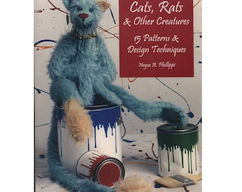 Cats Rats and Other Creatures Pattern Book by Neysa Phillippi Stuffed Animals
