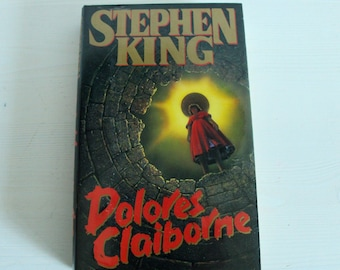 Dolores Claiborne by Stephen King *Book Club Edition *1993