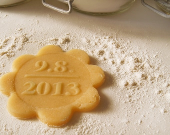 Cookie Stamp - Bisciut Stamp personalized Save the Date