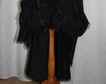 Final sale 50% off skirt Fantasy black