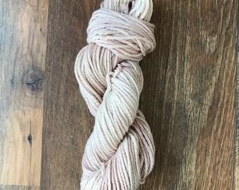 Hand Dyed Yarn-The Naturals-Bulky Weight- Superwash Merino