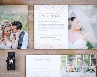 Wedding Magazine Template - Wedding Photography Magazine Template - Photography Marketing Magazine - Bokeh Photography wedding guide
