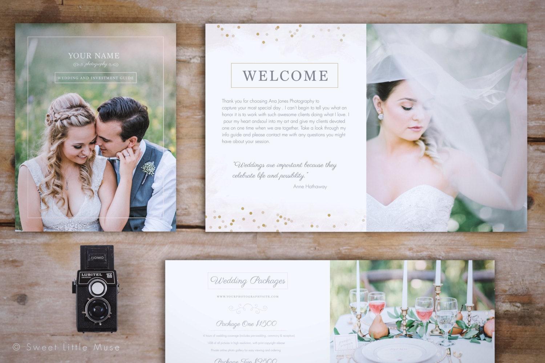 Wedding Magazine Template Wedding Photography Magazine