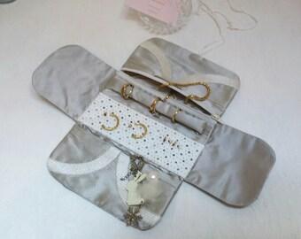 Kit pouch jewelry case jewelry travel jewelry storage case, jewelry, folding wallet, travel pouch, women gift