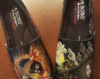 HUNGER GAMES custom Shoes