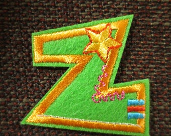 "Fusible letter ""Z"" to apply or sewing"