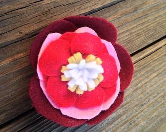 Felt Flower - 5 layers