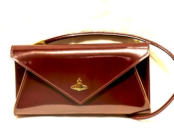 Vivienne Westwood Burgundy Handbag - BORDEAUX