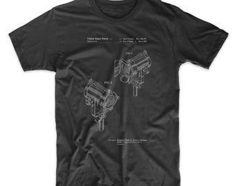 Stage Lights Patent T Shirt, Theater Gift, Movie Shirt, Director Gift, Movie T Shirt, Cinema Shirt, PP0495