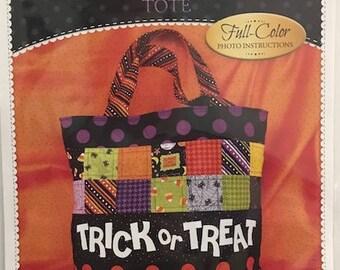 Trick or Treat Tote Bag Pattern