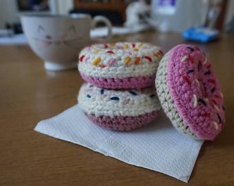 Catnip Kitty Donut Toy (pink theme)