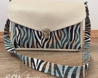 Handmade shoulder bag, purse