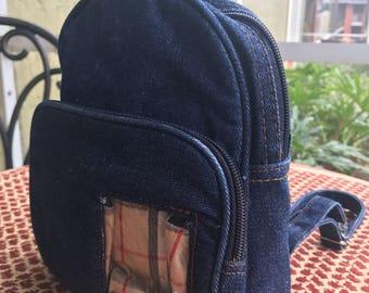 Re-Trippy Mini Demin Backpack