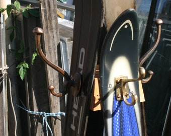 Ski Coat Rack Handmade