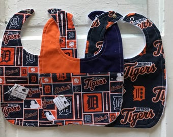 Detroit Tigers Trio of Bibs - FREEE SHIPPING!!!!
