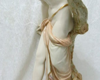 """Royal Worcester """"Bather Surprised"""" Larger 15.5"""" Model C1902 What a stunning piece!"""