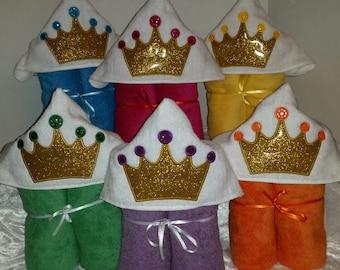 Princess Hooded Towels