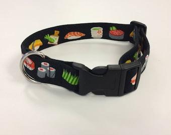 Martingale, Limited Slip, Buckle Dog Collar / Sushi / Sighthound Collar / Training Collar