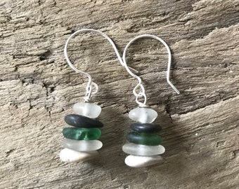 Green with Envy Cairn Earrings