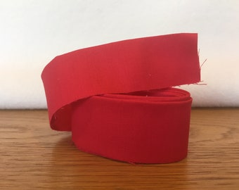Cotton Quilt Binding- Chinatown Red