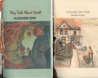 Get Two 2014 Chaps for a lowered price - They Talk About Death by A. Bava, House on Fire by S. Yount, Stick Up by P. Adkins