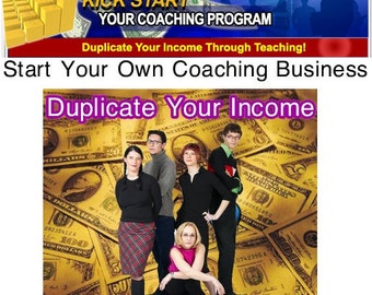 Work From Home Start Your Own COACHING BUSINESS Step By Step Program