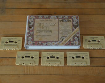 1979 Five Cassette Tapes Happily Ever After Set