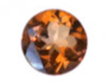 2 ct. - 8 mm Round Azotic Twilight Topaz in AAA Grade