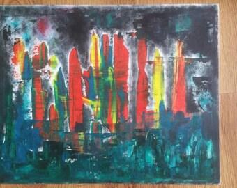 Original Humor Me 16x20 Oil Painting