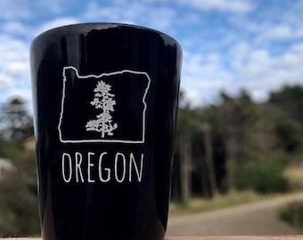 Oregon Pine Shot Glass