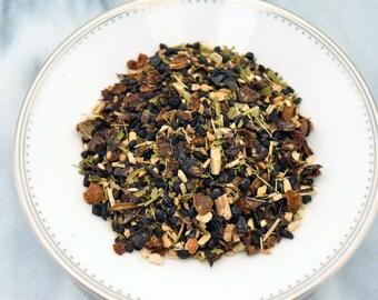 Organic Herbal Tea - Wellness: Echinacea Elderberry