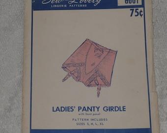 Sew Lovely G601 Pattern Panty Girdle Misses Size S M L XL Uncut Lingerie