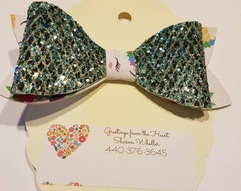 Hair bow...3 inches long...2 inches wide